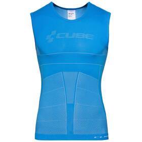 Cube Teamline Funktionsunterhemd ärmellos Herren blue'n'white'n'red